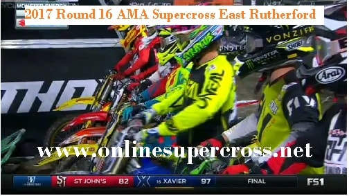 AMA Supercross East Rutherford live
