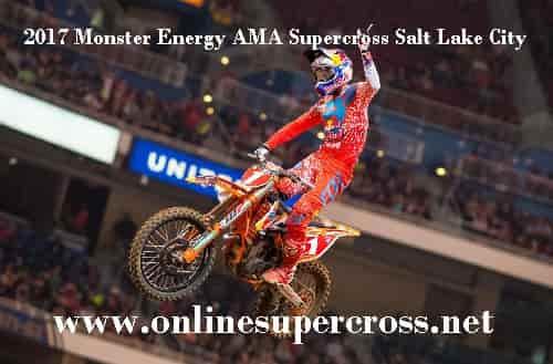 Monster Energy AMA Supercross Salt Lake City