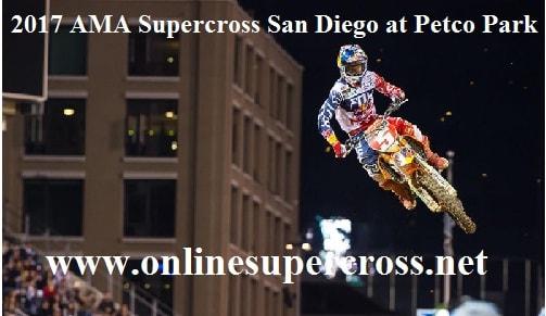 AMA Supercross San Diego at Petco Park live