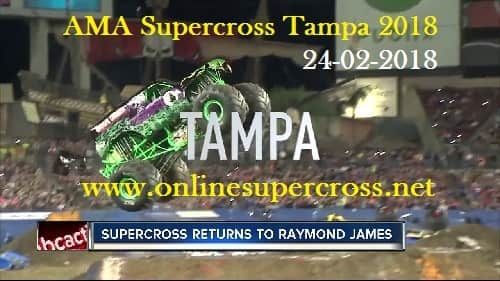 AMA Supercross Tampa 2018