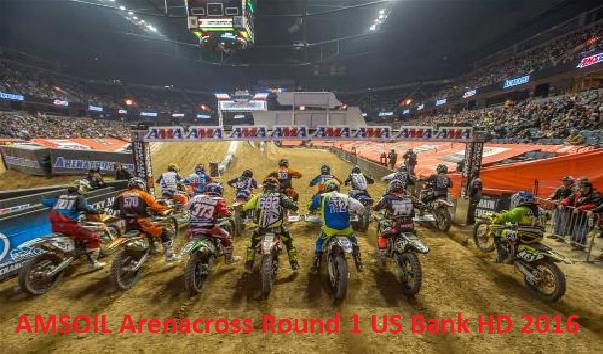 Watch AMSOIL Arenacross Round 1 US Bank Telecast