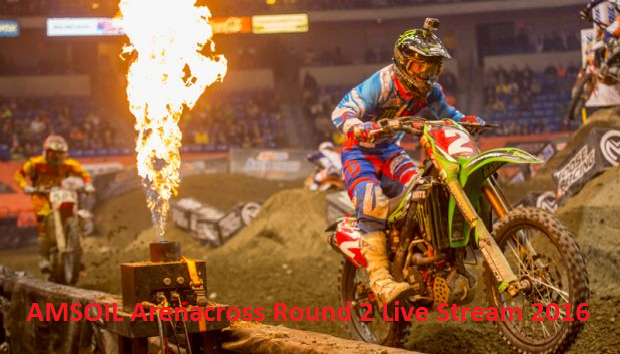 Watch AMSOIL Arenacross Round 2 Online