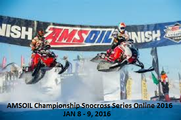 Watch AMSOIL Championship Snocross Series 2016 Live
