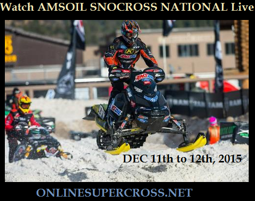 Watch AMSOIL Snocross National Live Streaming