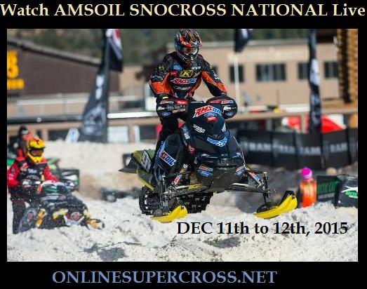 Live Race AMSOIL SNOCROSS NATIONAL 2015 Online