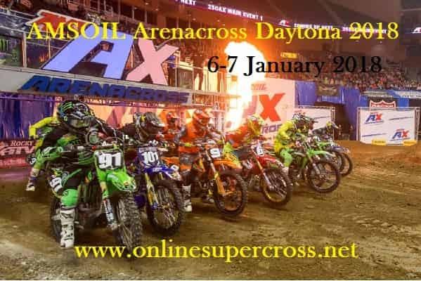 AMSOIL Arenacross Daytona 2018