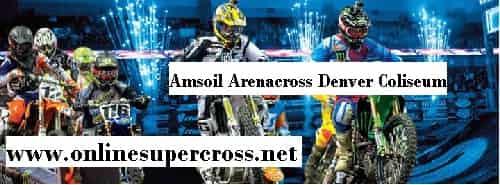 Amsoil Arenacross Denver Coliseum live