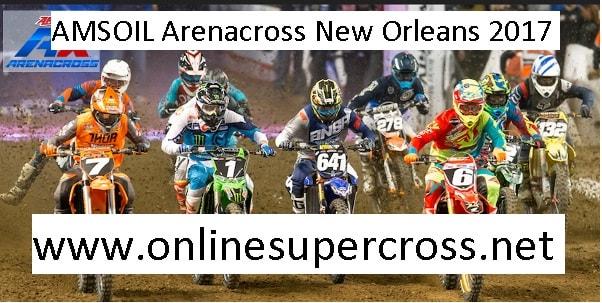 AMSOIL Arenacross New Orleans live