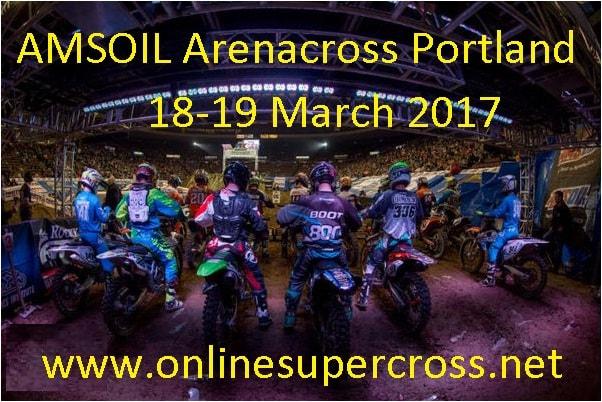AMSOIL Arenacross Portland live