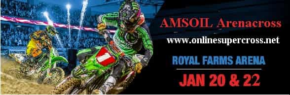 Amsoil Arenacross Royal Farms Arena 2017 live