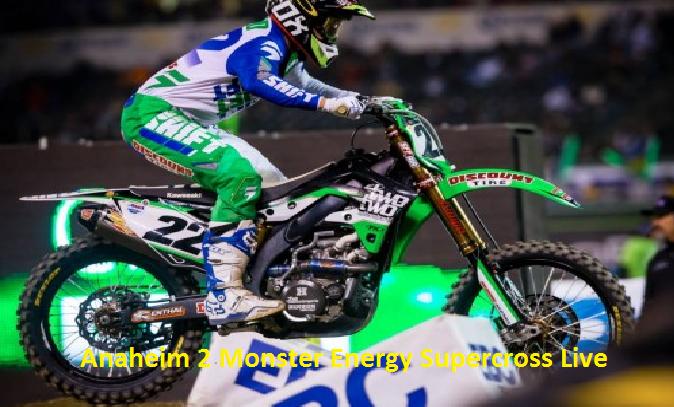 Anaheim 2 Supercross 2016 Race Live