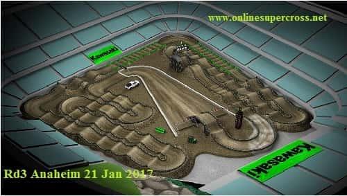 Anaheim Round 2 race