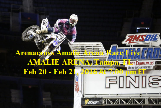 Watch Amalie Arena Race 2016 Live Stream