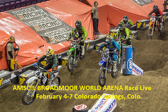 Telecast Arenacross Broadmoor World Arena Race