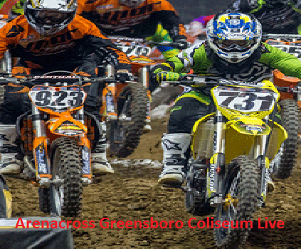 Arenacross Greensboro Coliseum Race Online stream 2016