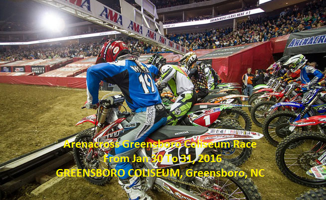 Live Arenacross Greensboro Coliseum Race