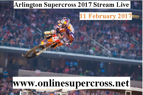 Arlington Supercross 2017 live