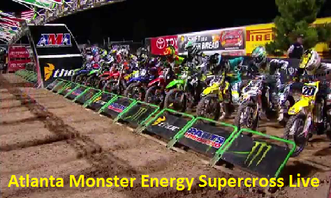 Watch Supercross Atlanta Race Online