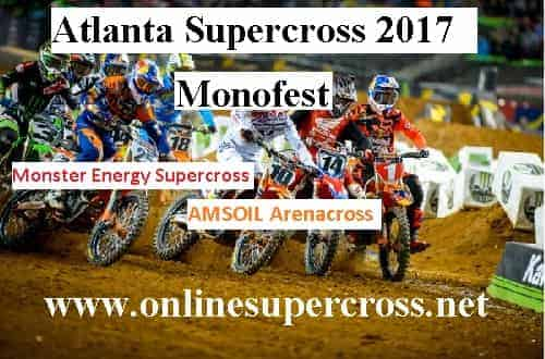 Atlanta Supercross 2017 Live