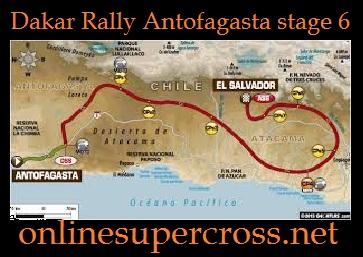 Dakar Rally Antofagasta stage 6