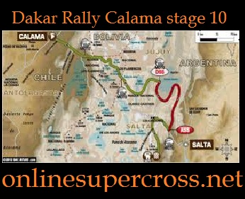 Dakar Rally Calama stage 10