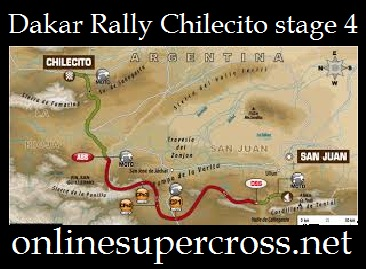 Dakar Rally Chilecito stage 4
