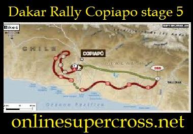Dakar Rally Copiapo stage 5