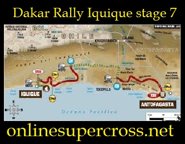 Dakar Rally Iquique stage 7