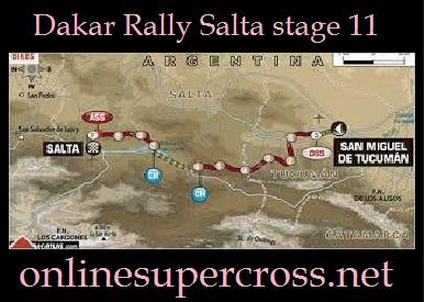 Watch Dakar Rally Salta stage 11 Online