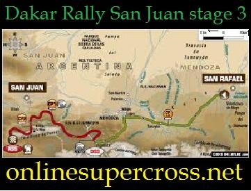 Dakar Rally San Juan stage 3