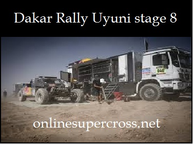 Dakar Rally Uyuni stage 8