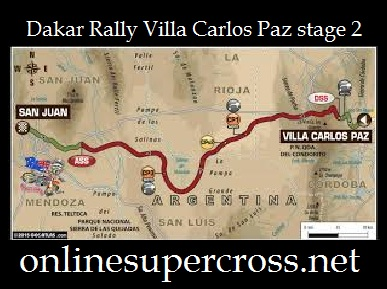 Dakar Rally Villa Carlos Paz stage 2