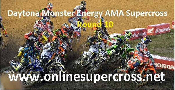 Daytona Monster Energy AMA Supercross Round 10 live