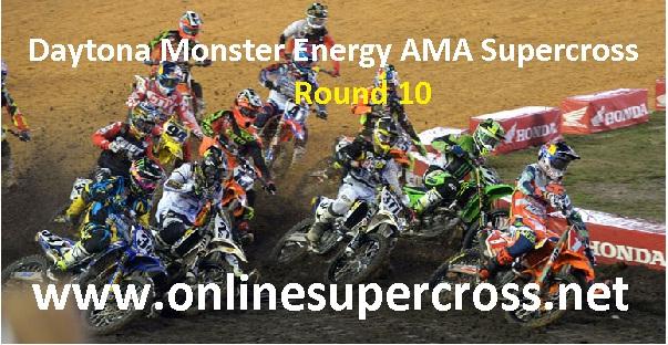 Daytona Monster Energy AMA Supercross Round 10 live