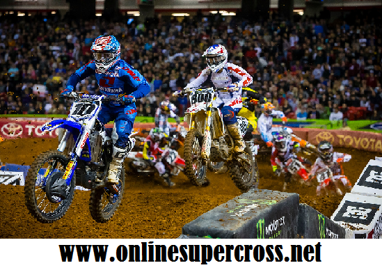 Watch Monster Energy Supercross East Rutherford Round 16 Race Online