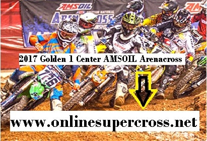 Golden 1 Center AMSOIL Arenacross live