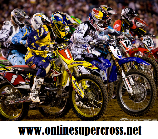2016 Monster Energy Supercross in Lucas Oil Stadium