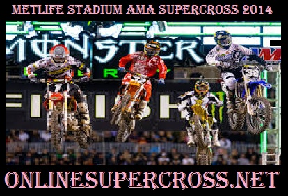 Live MetLife Stadium AMA supercross
