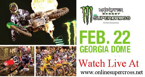 Live Supercross At Atlanta