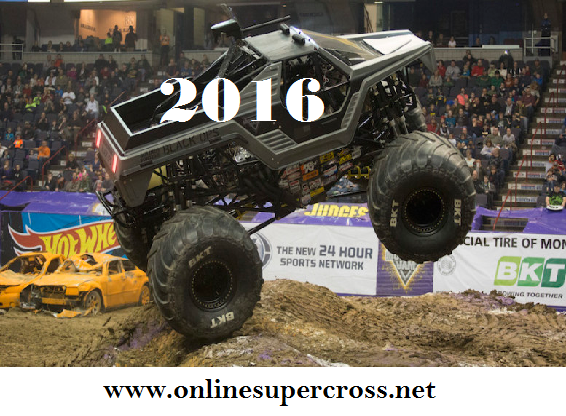 2016 Monster Jam Trucks Manchester Live Stream