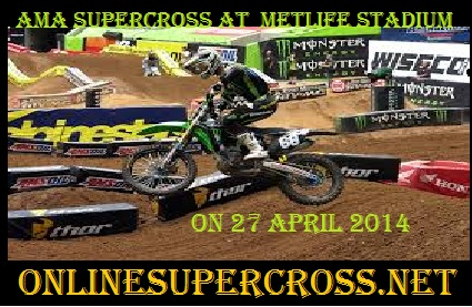 MetLife Stadium ama supercross