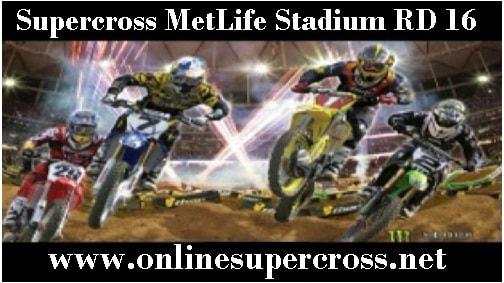 MetLife Stadium Supercross live