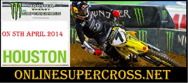 Monster Energy AMA Supercross at Reliant Stadium