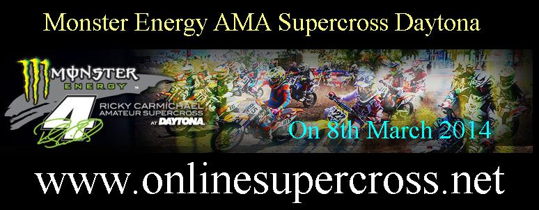 Monster Energy AMA Supercross Daytona