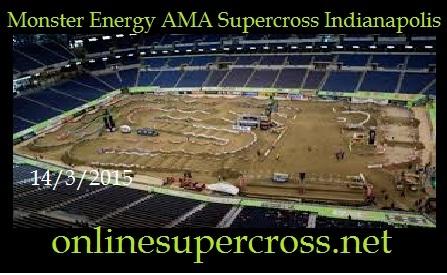 Monster Energy AMA Supercross Indianapolis 2015