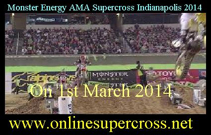 Monster Energy AMA Supercross Indianapolis