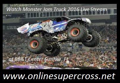 Monster Jam Truck live