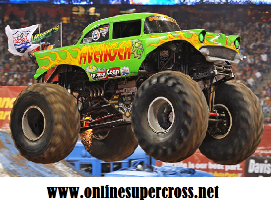 2016 Race Monster Jam Trucks at RBC Center Raleigh Arena