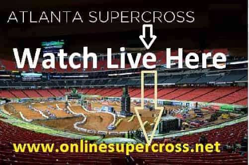 Monster Energy Supercross Atlanta Round 8 live