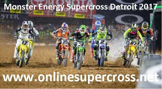 Monster Energy Supercross Detroit live